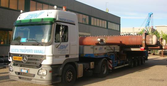 generatori larghezza m. 7,70 – 38 Ton. -